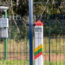 Komisija: barjeras Baltarusijos pasienyje bus įrengiamas dviem etapais