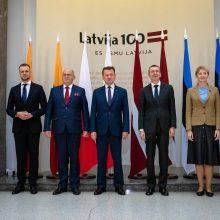 Lietuvos ministrai: būtina stiprinti NATO kolektyvinę gynybą matant hibridines grėsmes