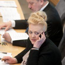 NSGK siūlo tirti ir I. Rozovos ryšius, ir informacija disponavusių politikų veiksmus