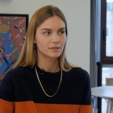 Modelis ir tinklaraštininkė J. Steponavičiūtė: gardžiuotis gera, išmesti gėda