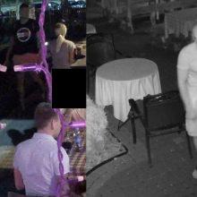 Policija prašo pagalbos: gal atpažįstate šiuos padavėjos skriaudėjus?