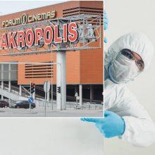 """Dviejuose """"Akropoliuose"""" – po naują koronaviruso atvejį"""