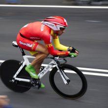 Dviratininkas G. Bagdonas lenktynėse Belgijoje finišavo 19-as