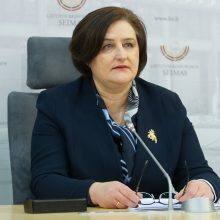 """""""MG Baltic"""" byloje bus apklausta buvusi Seimo pirmininkė L. Graužinienė"""