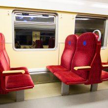 Vyriausybė svarstys traukinių pritaikymą neįgaliesiems