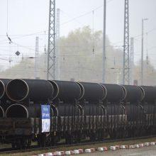 """JAV ragina skelbti """"moratoriumą"""" dujotiekiui """"Nord Stream 2"""""""