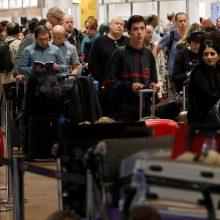 Briuselyje – spontaniškas oro uosto darbuotojų streikas, įstrigo ir lietuviai
