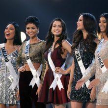 "2018-ųjų ""Mis Visata"" išrinkta gražuolė filipinietė"