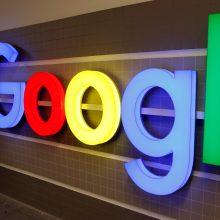 """""""Google"""" bus skirta trečia Europos Komisijos bauda"""