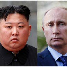Kremlius: Kim Jong Uno ir V. Putino susitikimas įvyks ketvirtadienį