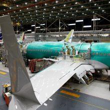 """Problemos nesibaigia: aptiko itin rimtą defektą """"Boeing 737"""" modelio lėktuvuose"""