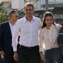 Konservatoriai triuškinamai laimėjo parlamento rinkimus Graikijoje