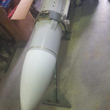 Italijoje iš kraštutinių dešiniųjų šalininkų konfiskuota ginklų ir raketa