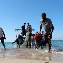 Prie Libijos krantų rasti 62 migrantų kūnai