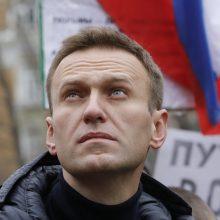 Atskleidė, kodėl A. Navalnas hospitalizuotas