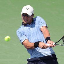 """Tenisininkas R. Berankis baigė pasirodymą """"US Open"""" turnyre"""