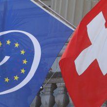 Klimato aktyvistai trumpam nutraukė Šveicarijos parlamento darbą