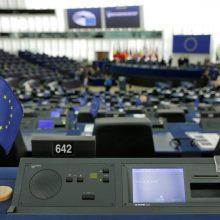 Maskva kaltina Europos Parlamentą mėginant klastoti istoriją