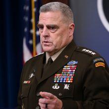 Generolas: JAV padės Ukrainai išsaugoti nepriklausomybę ir laisvę