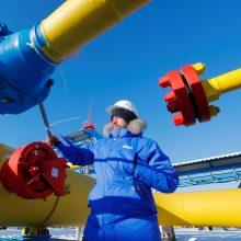 """""""Gazprom"""" žada sumokėti 2,6 mlrd. eurų, kad išspręstų dujų ginčą su Ukraina"""