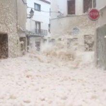Ispanija skelbia klimato nepaprastąją padėtį