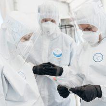 Visi nauji koronaviruso atvejai nustatyti Vilniaus sveikatos priežiūros įstaigose