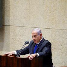 Izraelio parlamente prisiekė nauja vienybės vyriausybė