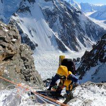 Nepaliečių alpinistų komanda pirmoji žiemą įkopė į K2 viršūnę