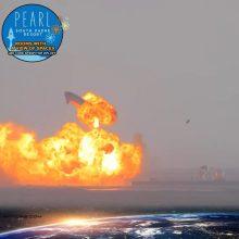 """Trečias kartas ir vėl melavo kompanijai """"SpaceX"""": nusileidusi raketa susprogo"""
