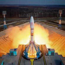 Rusija paleido į kosmosą daugiau britų telekomunikacijų palydovų