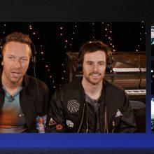 """""""Coldplay"""" per pokalbį su prancūzų astronautu transliavo į kosmosą naują dainą"""