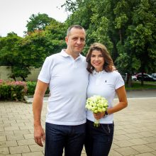 Orų pranešėjos K. Liukaitytės ir jos vyro santuoką ištiko krizė