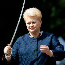 Įsimintiniausios D. Grybauskaitės valdymo akimirkos