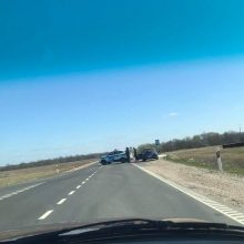 Netoli Rokų buvo uždarytas eismas: kodėl užtruko tarnybų darbai?