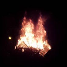 Marvelėje atvira liepsna degė namas <span style=color:red;>(vaizdo įrašai)</span>