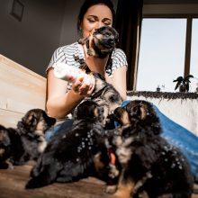 Šunų mylėtoja ir ekspertė: su augintiniu galima dalytis net indais