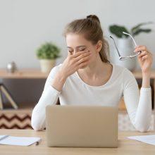 Akių gydytoja rekomenduoja nuo 35-erių reguliariai tikrintis regėjimą