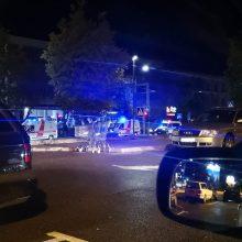 Savanorių prospekte automobilis partrenkė vyrą