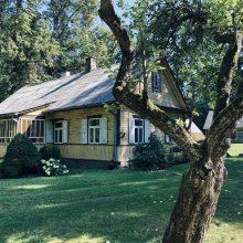 Paveldas: 1936-aisiais statytą sodybą K.Tamoševičienės seneliai įsigijo devintajame dešimtmetyje.