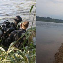 Prie Nemune dingusio paauglio paieškų žada jungtis ir narai iš Latvijos