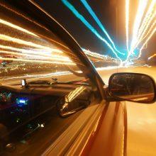Klaipėdoje sustabdytas greitį daugiau nei triskart viršijęs vairuotojas