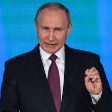 V. Putinas iki 2020-ųjų pabaigos pratęsė embargą vakarietiškiems maisto produktams