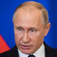 V. Putinas ir S. Lavrovas Sočyje susitiks su M. Pompeo