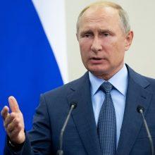 V. Putinas: norėtume aptarti karinių skrydžių virš Baltijos jūros saugumą su NATO