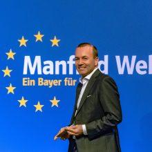 """Kandidatas į EK pirmininko postą žada užblokuoti """"Nord Stream 2"""""""