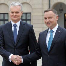 Lietuvos ir Lenkijos prezidentai: Jonas Paulius II buvo regiono laisvės bendrakūrėjas