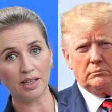 Danijos premjerę supykdė ir nustebino D. Trumpo vizito atšaukimas