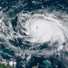 "D. Trumpas: uraganas ""Dorian"" gali pasiekti Pietų Karoliną ir dar dvi valstijas"
