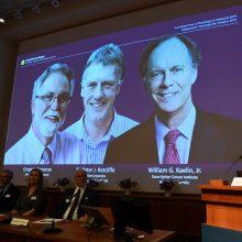 2019-ųjų Nobelio medicinos premija: kuo atradimai yra susiję su vaistais nuo vėžio
