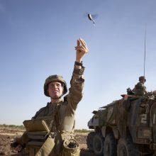 Į NATO batalioną Lietuvoje atvyksta prancūzų kariai